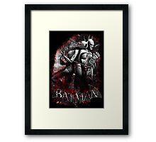 Batman & Catwoman Arkham City Framed Print