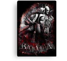 Batman & Catwoman Arkham City Canvas Print