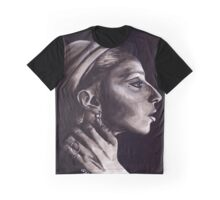stripped Graphic T-Shirt