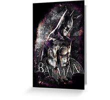 Batman Arkham City Greeting Card