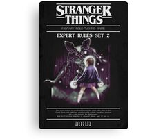 Stranger Dungeons - Black Edition Canvas Print