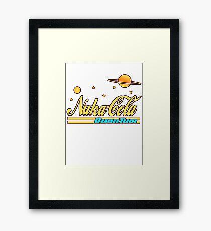 Nukacola Quantum Modern Redesign Framed Print