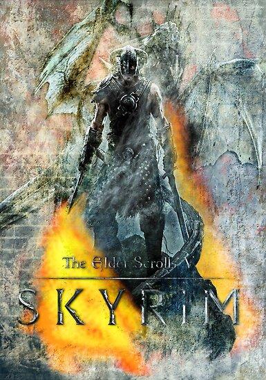 Skyrim by sazzed