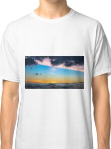 Sunset from the sea Classic T-Shirt