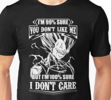 super saiyan majin vegeta - i don't care Unisex T-Shirt