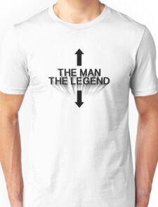 The Man The Legend - Black Unisex T-Shirt