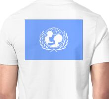 UNICEF, Flag. United Nations Children's Fund Unisex T-Shirt
