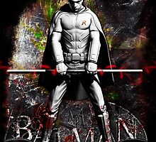 Batman Arkham City Robin by sazzed