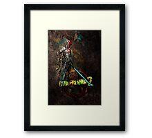 Zer0 Framed Print