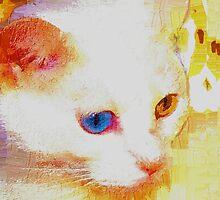 Cat portrait by ♥⊱ B. Randi Bailey