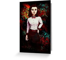 Bioshock Infinite Elizabeth #2 Greeting Card