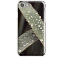 green autumn rainy picture iPhone Case/Skin