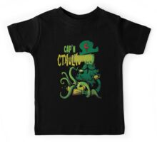 Cap'n Cthulhu Kids Tee
