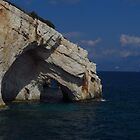 The Blue Caves, Zakynthos by wiggyofipswich