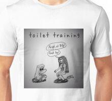 "PUN COMIC - ""TOILET TRAINING"" Unisex T-Shirt"