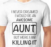 Awesome Aunt Unisex T-Shirt