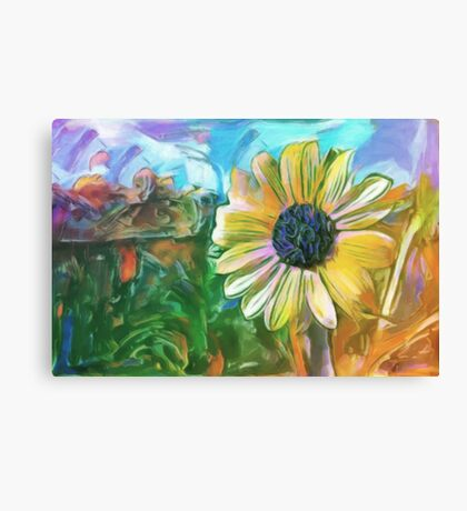 Foreground Flower Canvas Print