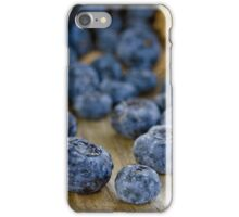 Blueberry Macro iPhone Case/Skin