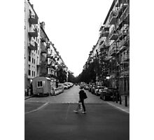 Lonely Street Photographic Print