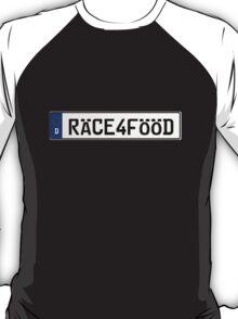 Euro Plate - RACE4FOOD T-Shirt