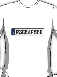 Euro Plate - RACE4FOOD T-Shirt