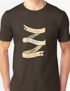 Girls Chase Boys Ribbon T-Shirt
