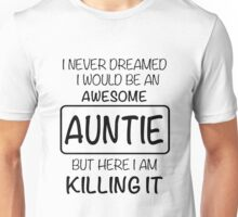 Awesome Auntie Unisex T-Shirt