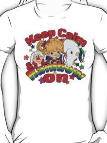 Keep Calm & Rainbow On (Light) T-Shirt