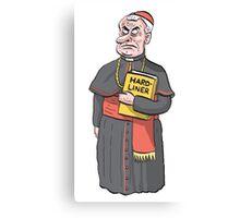Cardinal Ferdinand Hardliner Canvas Print