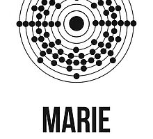 Marie Curie (Dark Lettering) - Clothing & Other Products by Hydrogene