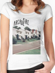 Arcade Fire Women's Fitted Scoop T-Shirt