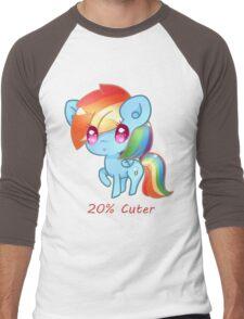 20% Cuter Men's Baseball ¾ T-Shirt