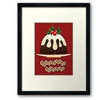 A Yummy Christmas Framed Print