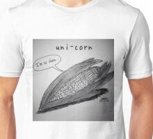 """PUN COMIC - """"UNI-CORN"""" Unisex T-Shirt"""