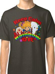 Keep Calm and Rainbow On (Dark) Classic T-Shirt