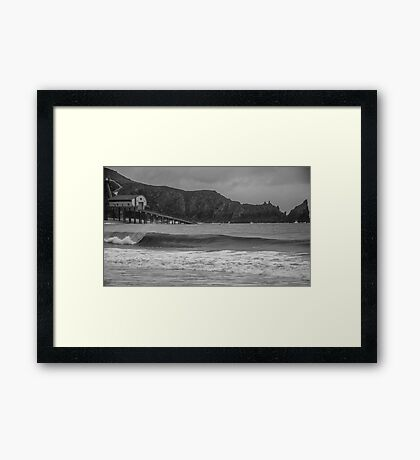 Lifeboat Station  Framed Print