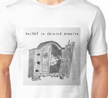 """PUN COMIC - """"KNIGHT IN SHINING ARMOIRE"""" Unisex T-Shirt"""