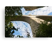 College Wood Viaduct Penryn Cornwall Canvas Print