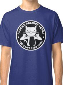 Pussies Against Trump Black Classic T-Shirt