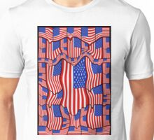 Soft American Flags Unisex T-Shirt