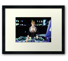 A DJ at the Folies-Bergère Framed Print