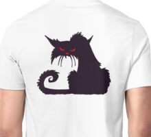 Grumpy cat, Cat Lover, Silhouette, Moggy, Black cat, Pet, Feline, Puss, Cat Woman, Pussy Unisex T-Shirt