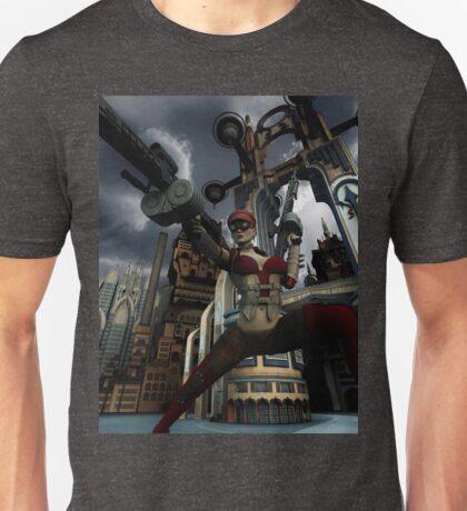 Steampunk Ursula Unisex T-Shirt