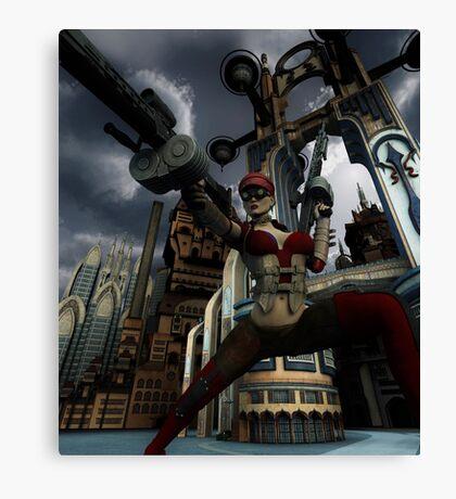 Steampunk Ursula Canvas Print