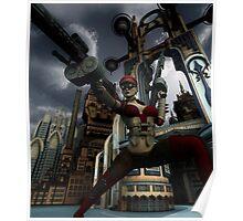 Steampunk Ursula Poster