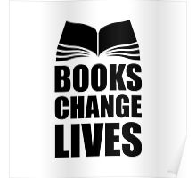 Books Change Lives Poster