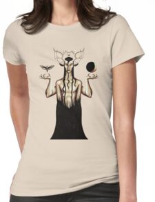 Delirious Death (transparent) Womens Fitted T-Shirt