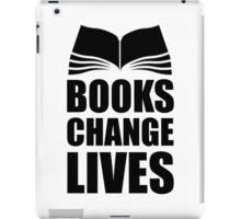 Books Change Lives iPad Case/Skin