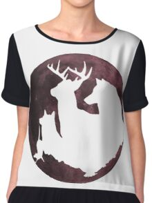 Moony, wormtail, padfoot and prongs Planet Chiffon Top