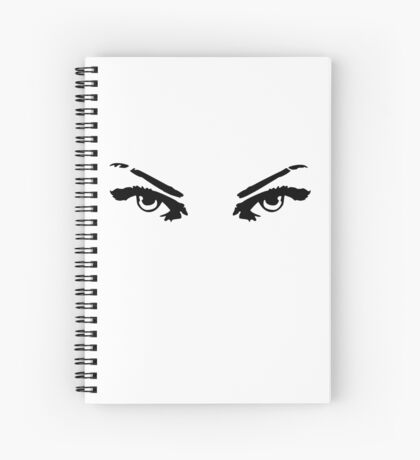 Hungry Eyes Spiral Notebook